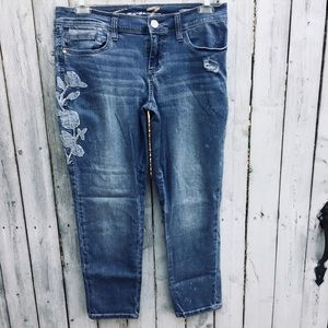 Seven crop jeans skinny easy fit 11-13